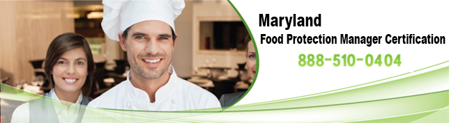 Maryland Food Protection Manager Certification